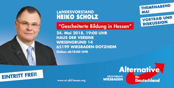 Themenabend mit Heiko Scholz