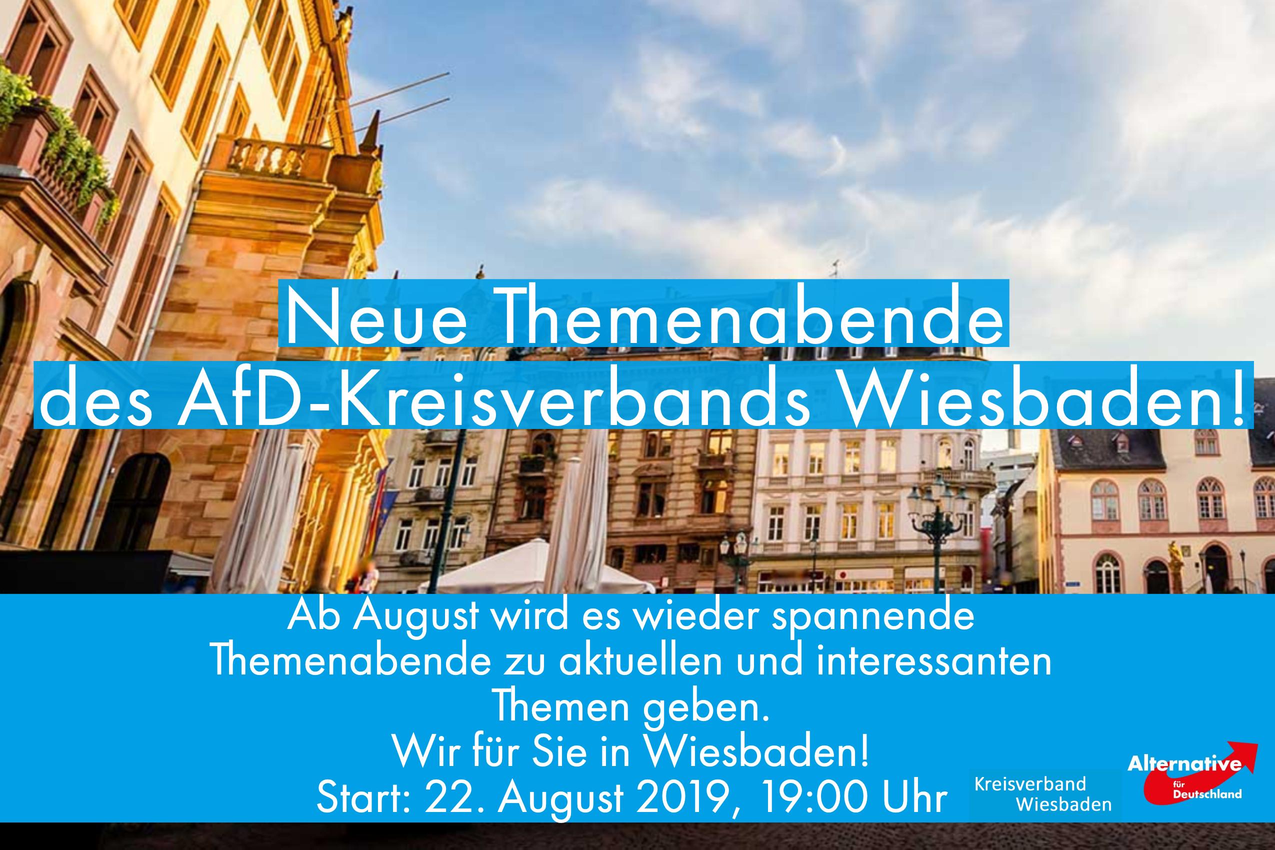 Themanabend des AfD Kreisverband Wiesbaden