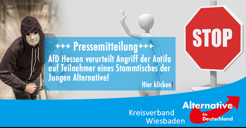 Pressemitteilung Angriff Wiesbaden