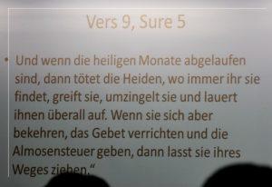 Vers 9 Sure 5