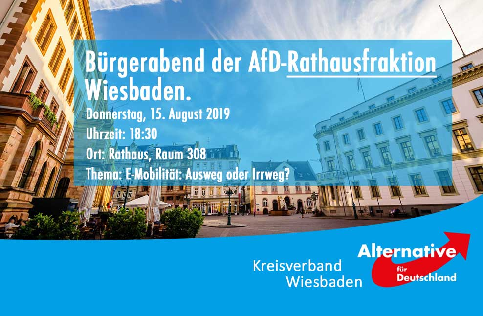 Bürgerabend AfD-Rathausfraktion Wiesbaden
