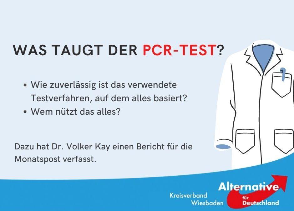 Ein Bericht von Dr. Volker Kay (Biologe, Mitglied AfD Kreisverband Wiesbaden)