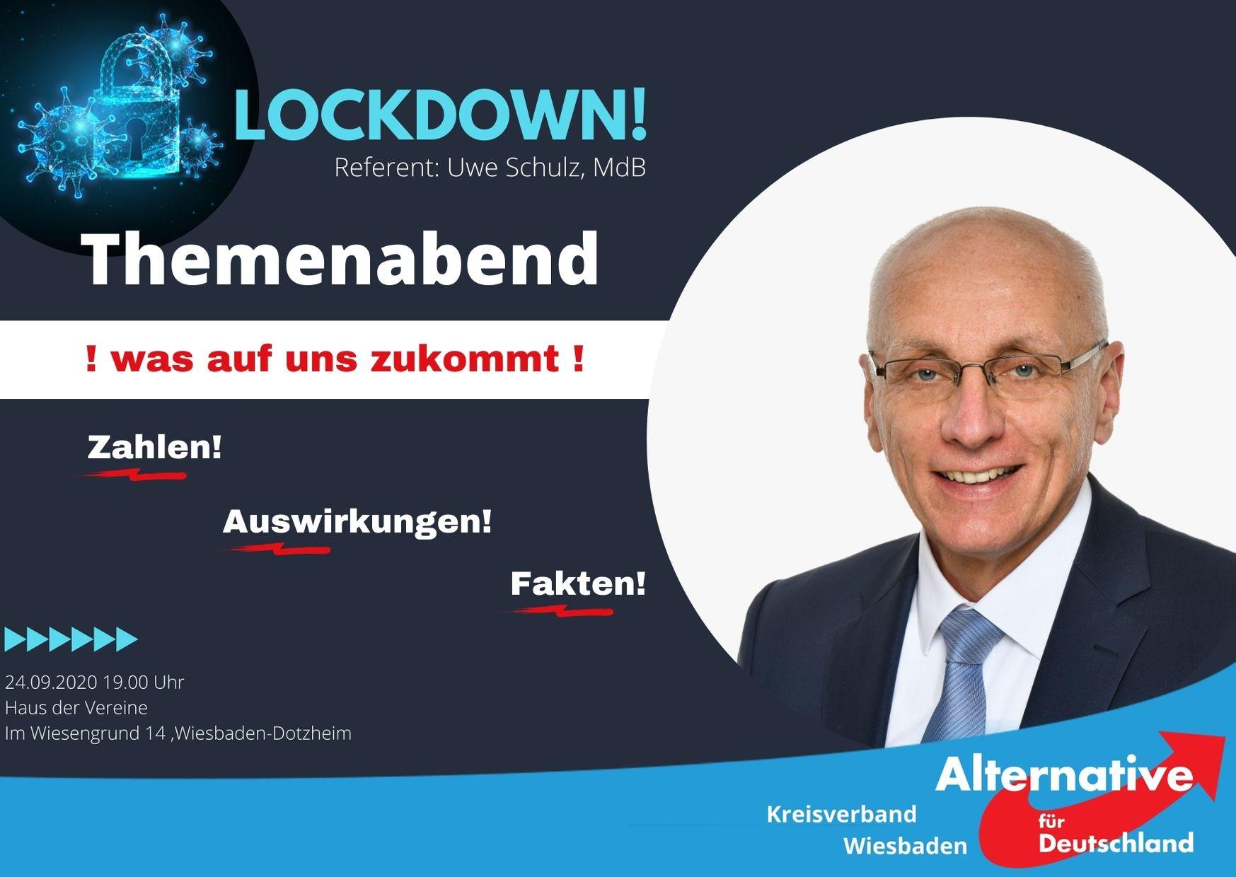 Afd Kreisverband Wiesbaden Themenabend Lockdown