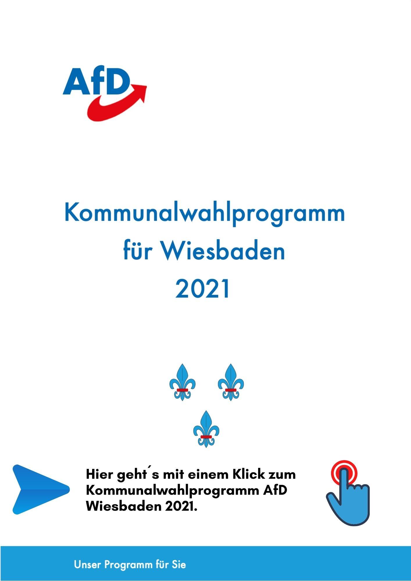 Kommunalwahlprogramm AfD Wiesbaden 2021