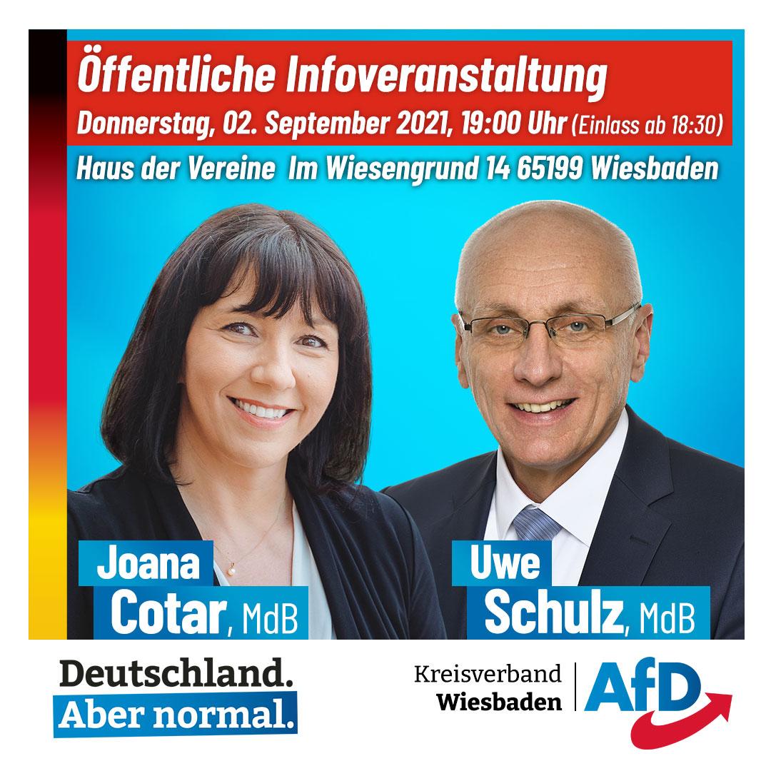 AfD Wiesbaden Veranstaltung 2. September 2021
